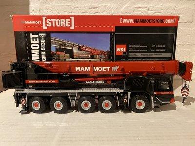 Mammoet store WSI Grove GMK 5130-2 Mobile Crane Mammoet