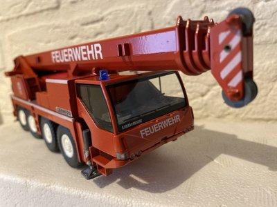 Conrad Modelle Conrad Liebherr LTM 1060/2 feuerwehr mobile crane