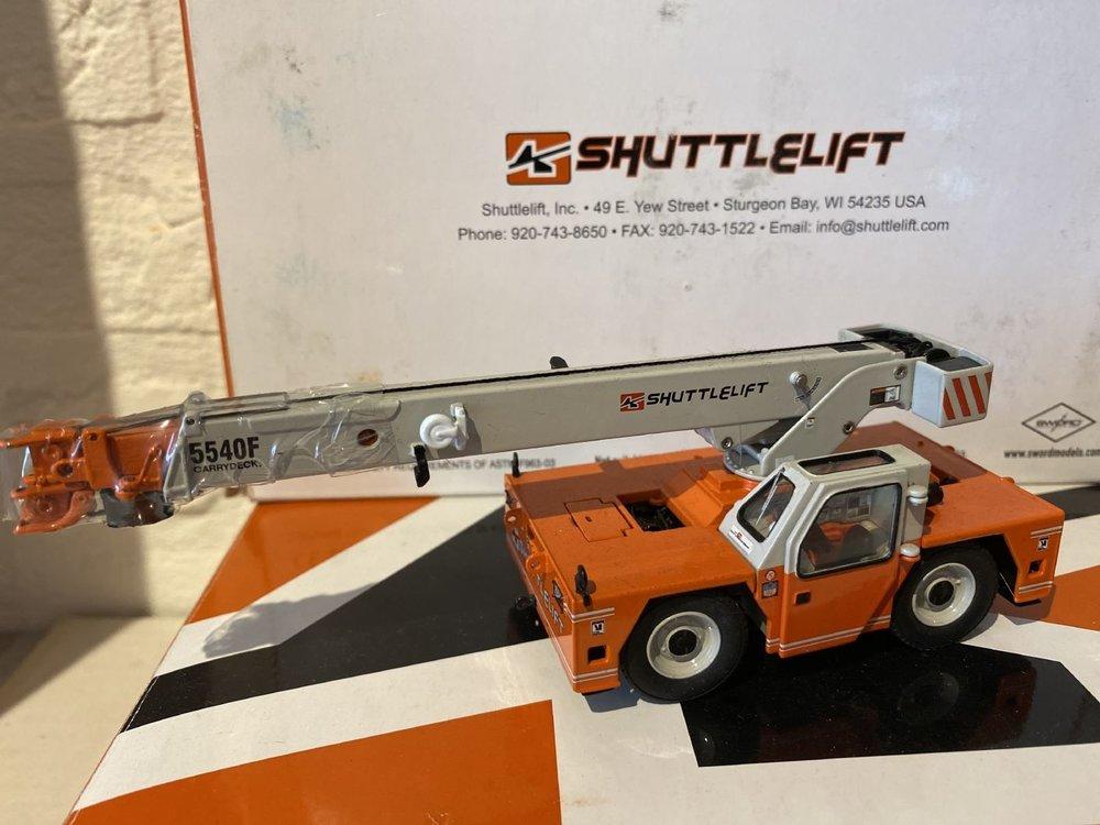 Sword models Sword Shuttlelift 5540F Crane  - orange