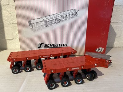 NZG NZG SPMT set transportplatform scheuerle