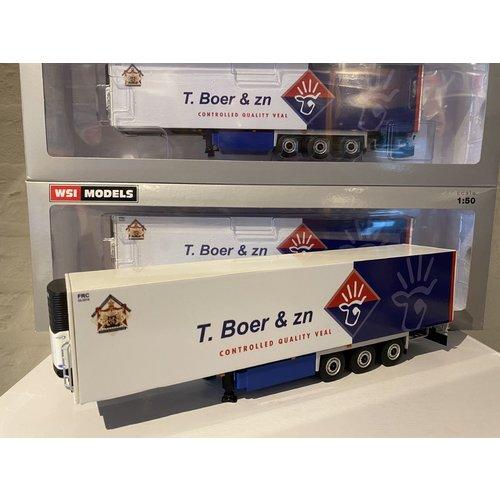 WSI WSI White line Reefer trailer - carrier 3-axle T. de Boer