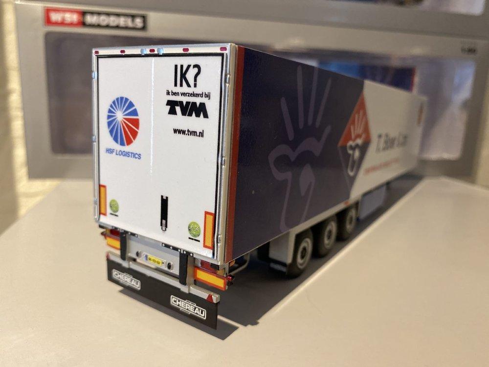 WSI I White line Reefer trailer - carrier 3-axle T. de Boer