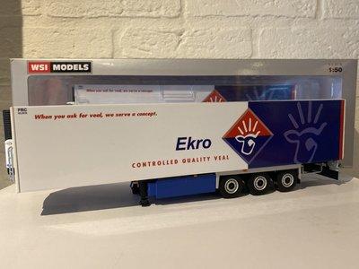 WSI WSI White line Reefer trailer - carrier 3-axle EKRO