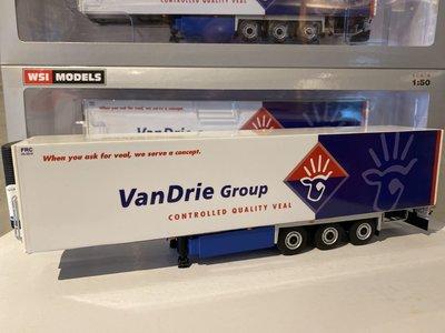 WSI WSI White line Reefer trailer - carrier 3-axle van Drie Group