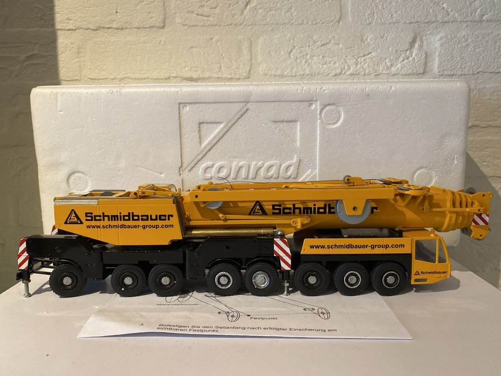 Conrad Modelle Conrad Demag AC 500-2 Mobil crane Schmidbauer