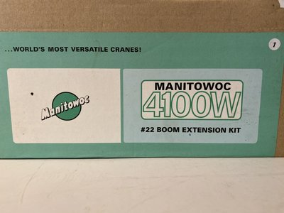 TWH Collectibles TWH  Manitowoc 4100W boom extention kit #22 red