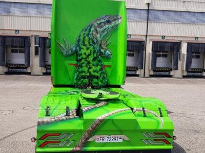 Tekno Tekno Scania Next Gen S-serie Highline met koelopegger Muller