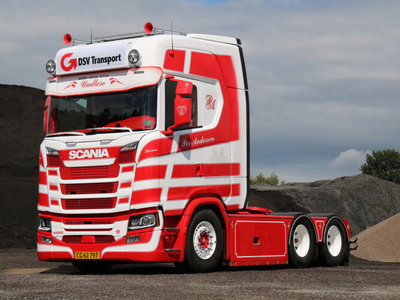 WSI WSI SCANIA S Highline 6x2 single truck Per Andersen