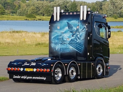 WSI WSI Scania S 6x2 twinsteer single truck Folmer