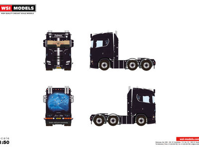 WSI WSI Scania S 6x2 twinsteer single truck Folmer