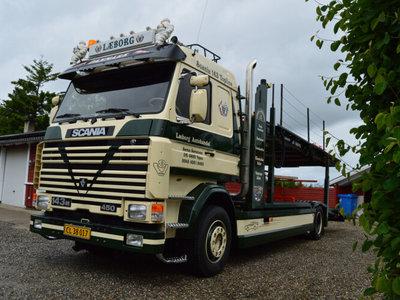 WSI WSI Scania 143M car transporter Laeborg autohandel