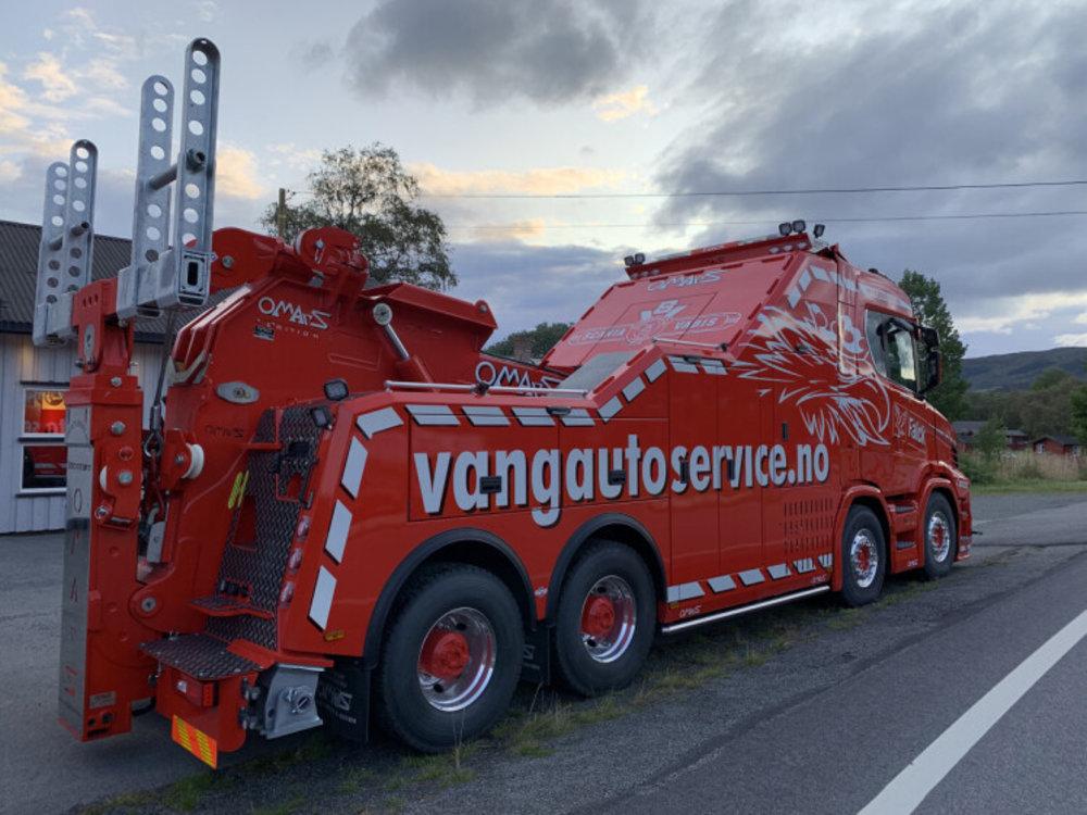 WSI WSI SCANIA Vlastuin Torpedo 8x4 wrecker Vang Auto service AS