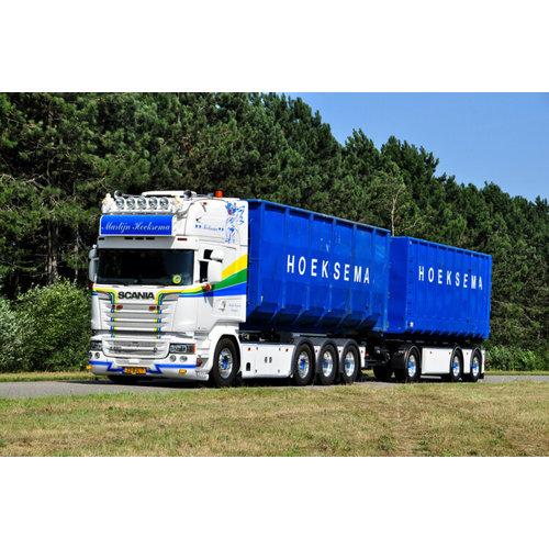 WSI WSI Scania R580 Topline afzetcontainer combi Hoeksema