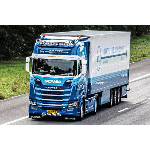 WSI WSI Scania S Highline 4x2 met koeloplegger Dirk Noppen RVE