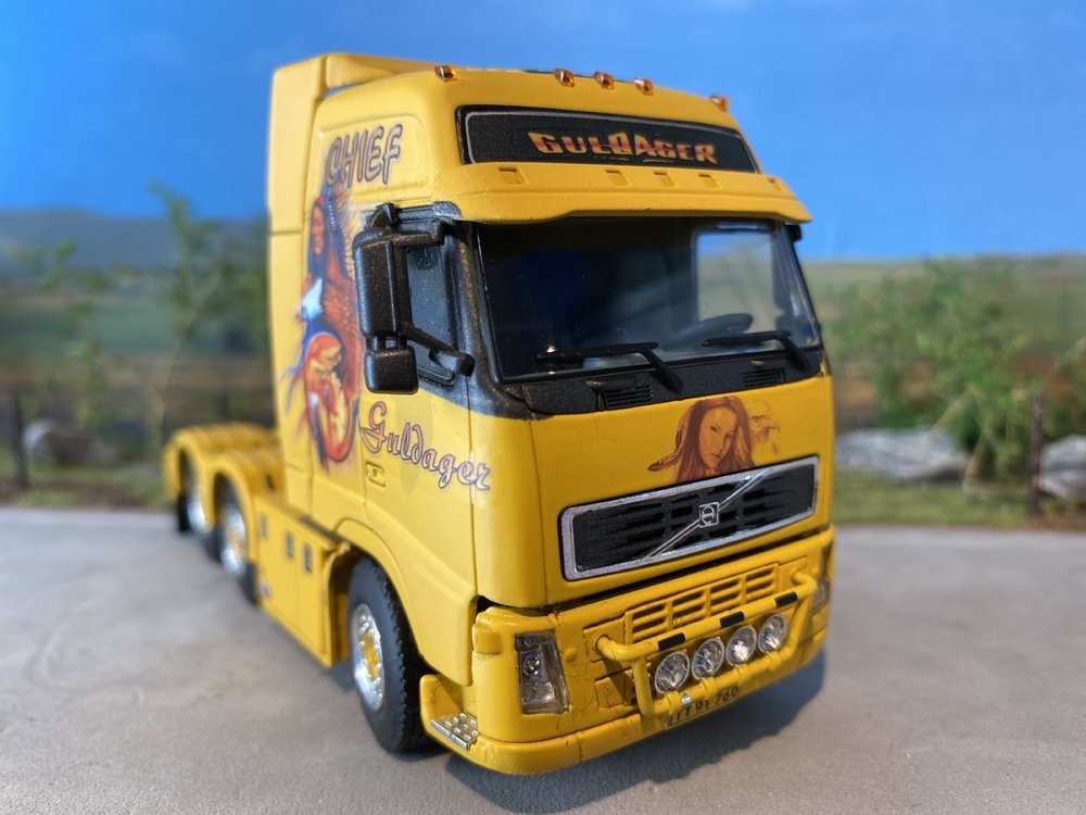 WSI WSI Volvo FH2 GL XL single truck Guldager the Chief