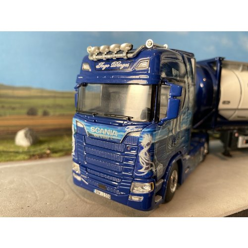 WSI WSI Scania S highline met 20ft. tank container Ingo Dinges