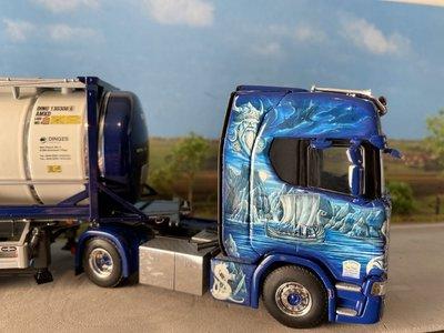WSI WSI Scania S highline met 20ft. tank container Ingo Dinges