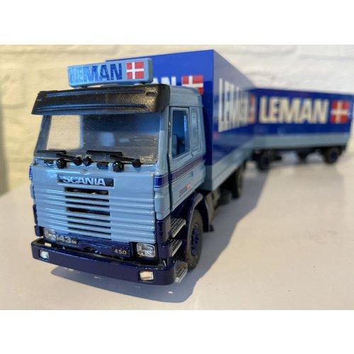 Tekno Tekno Scania 143M Gesloten combi Leman