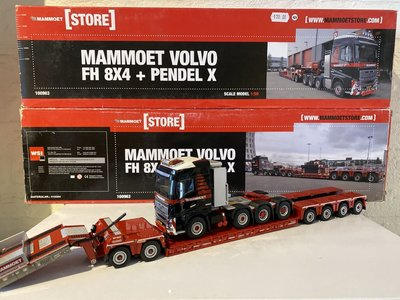 Mammoet store WSI Volvo FH04 Globetrotter with euro pendel X  2+4 Mammoet