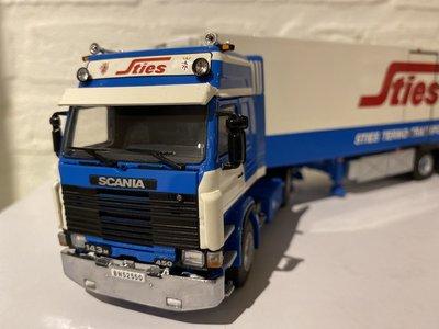 WSI WSI Scania 143M 4x2 with refrigerated trailer STIES
