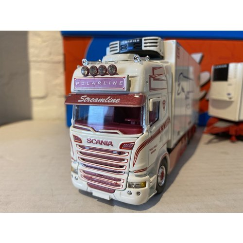Tekno Tekno Scania R Zweedse combinatie LZV Polarline