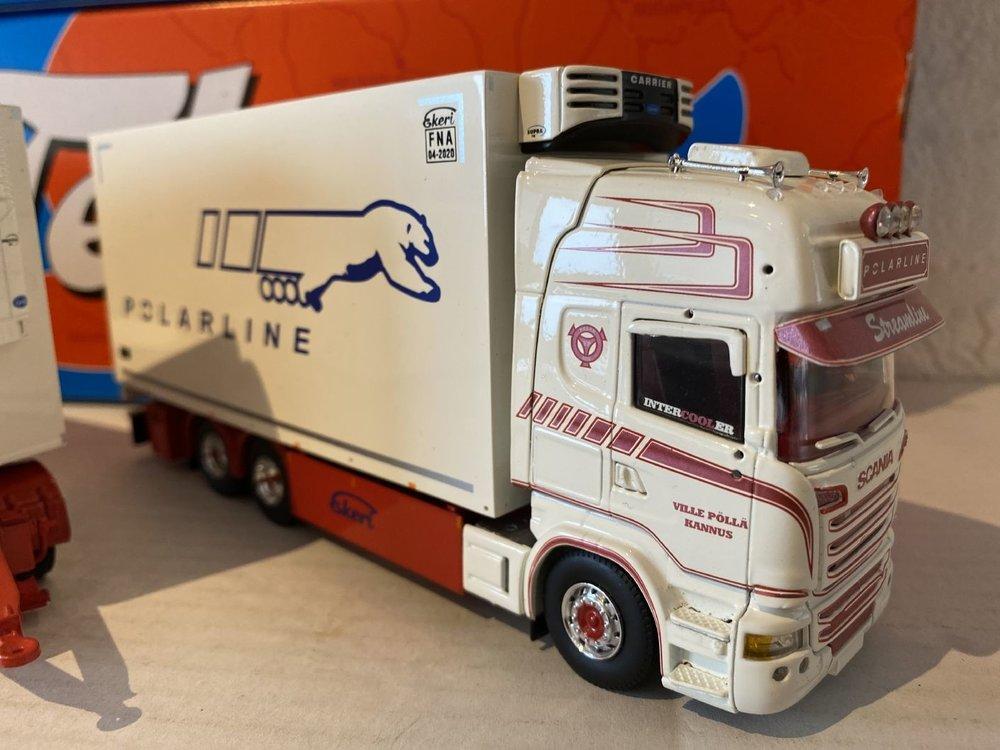 Tekno Tekno Scania R Zweedse combinatie LZV Polarline