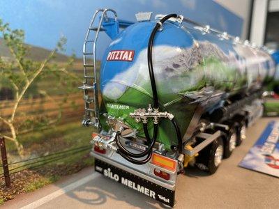 WSI WSI Scania R Topline met kippende bulkoplegger Melmer