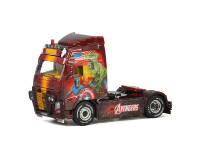 "WSI WSI Volvo FH3 Globe trotter 4x2 single truck BEAU ""Avengers"""