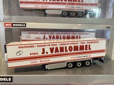 WSI WSI White line Reefer trailer - carrier 3-axle van Lommel