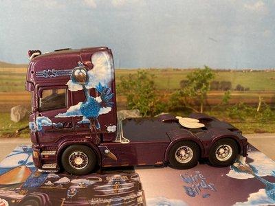 Tekno Tekno Scania R6 Topline 6x4 single truck SCS