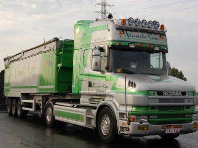 WSI WSI Scania 4-serie Torpedo met volume oplegger Vervaeke