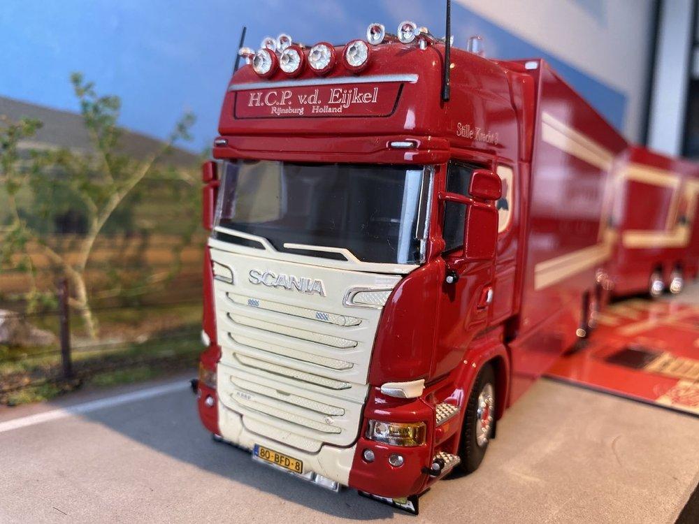 Tekno Tekno Scania R Motorwagen aanhanger H.C.P. van den Eijkel
