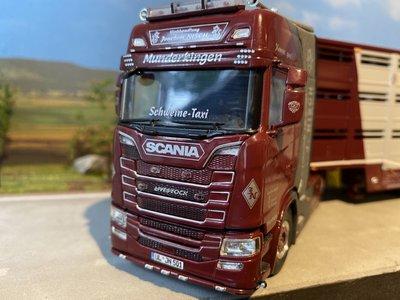 WSI **ACTIE** WSI Scania S Highline 4x2 met veeoplegger Joachim Nisch