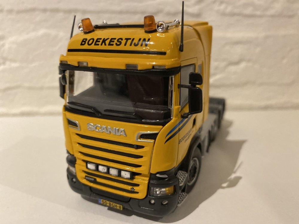 IMC IMC Scania R580 6x4 single truck Boekestijn