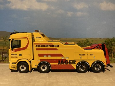 WSI WSI SCANIA S 8x4 Falkom Hans Jäger & Söhne