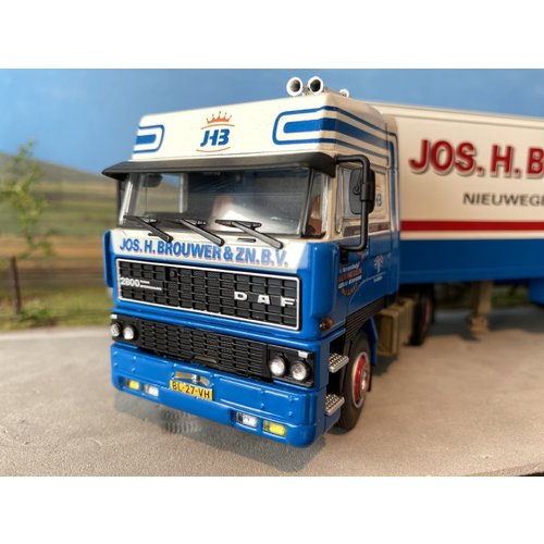 WSI WSI DAF 2800 with box trailer Jos H Brouwer
