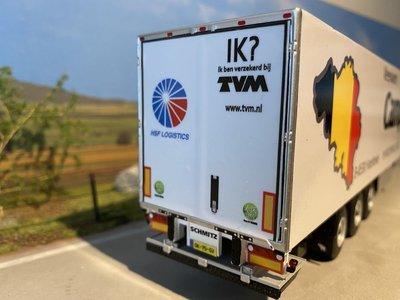 WSI WSI White line Reefer trailer - 3 axle Campens