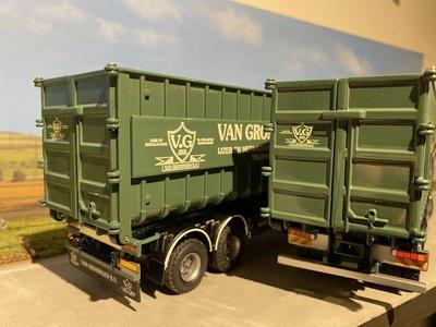 Tekno Tekno DAF 95XF combi afzet containers van Groningen