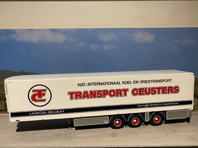 Tekno Tekno loose Zamac refrigerated trailer Ronny Ceusters