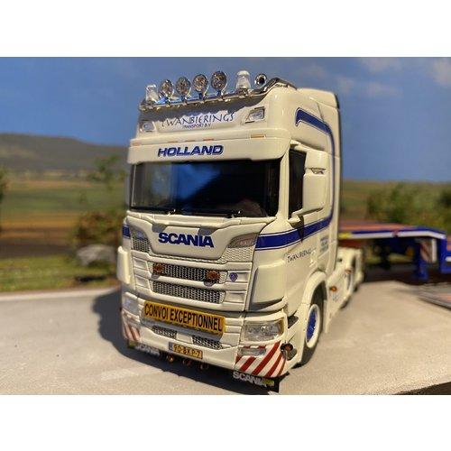 WSI WSI Scania R Highline 6x2 semi lowloader Twan Bierings