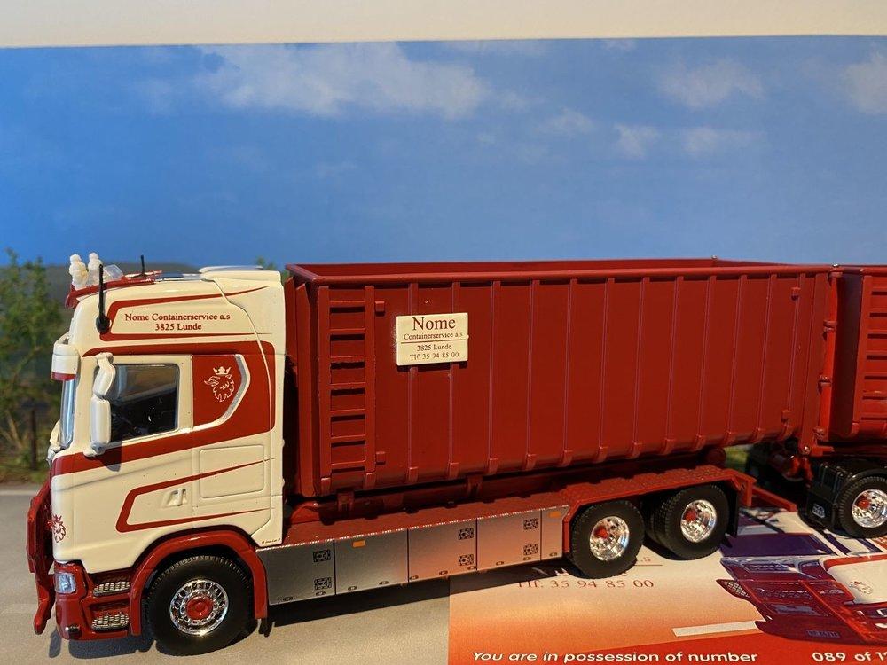 Tekno Tekno Scania Next gen haakarm met aanhanger Nome