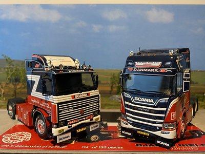 Tekno Tekno Scania 142M  & Scania Next Gen 6x2 Bjarne Nielsen set