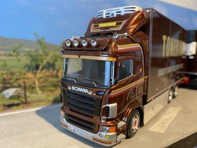 Tekno Tekno Scania R Highline motorwagen met aanhanger Tonerud