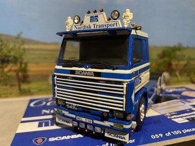 Tekno Tekno Scania 142H 6x2 Nordisk - Hugosson