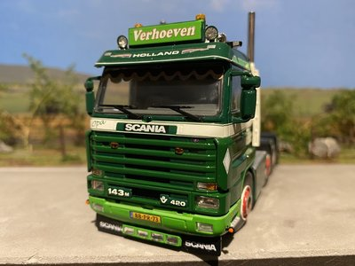 WSI WSI Scania 143M streamliner 6x2 Verhoeven transport