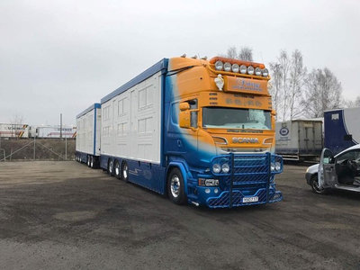 Tekno Tekno Scania R-serie Topline Zweedse veecombi Fribergs