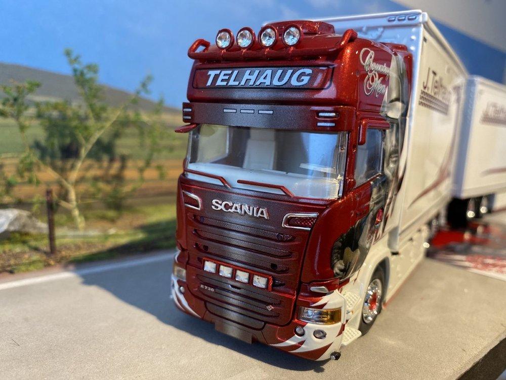 Tekno Tekno Scania R houtsnipper combi John Telhaug
