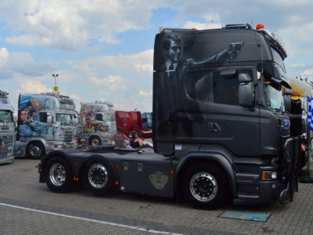 Tekno Tekno Scania R Topline 6x2 Patounas