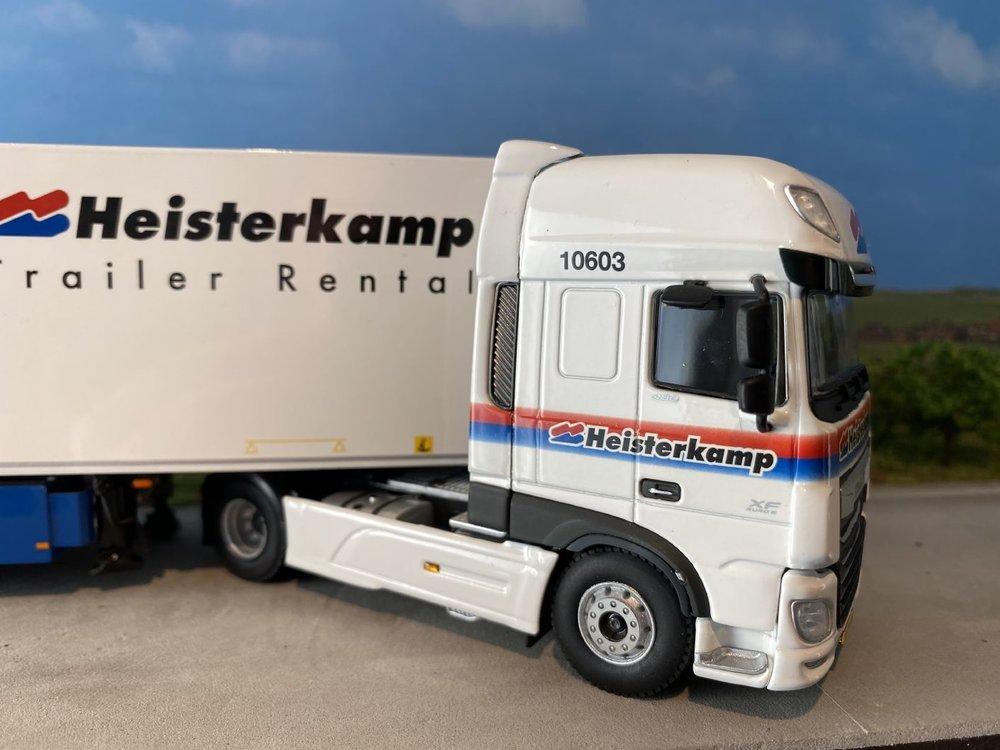 WSI WSI DAF 106XF SSC 4x2 met reefer trailer Heisterkamp