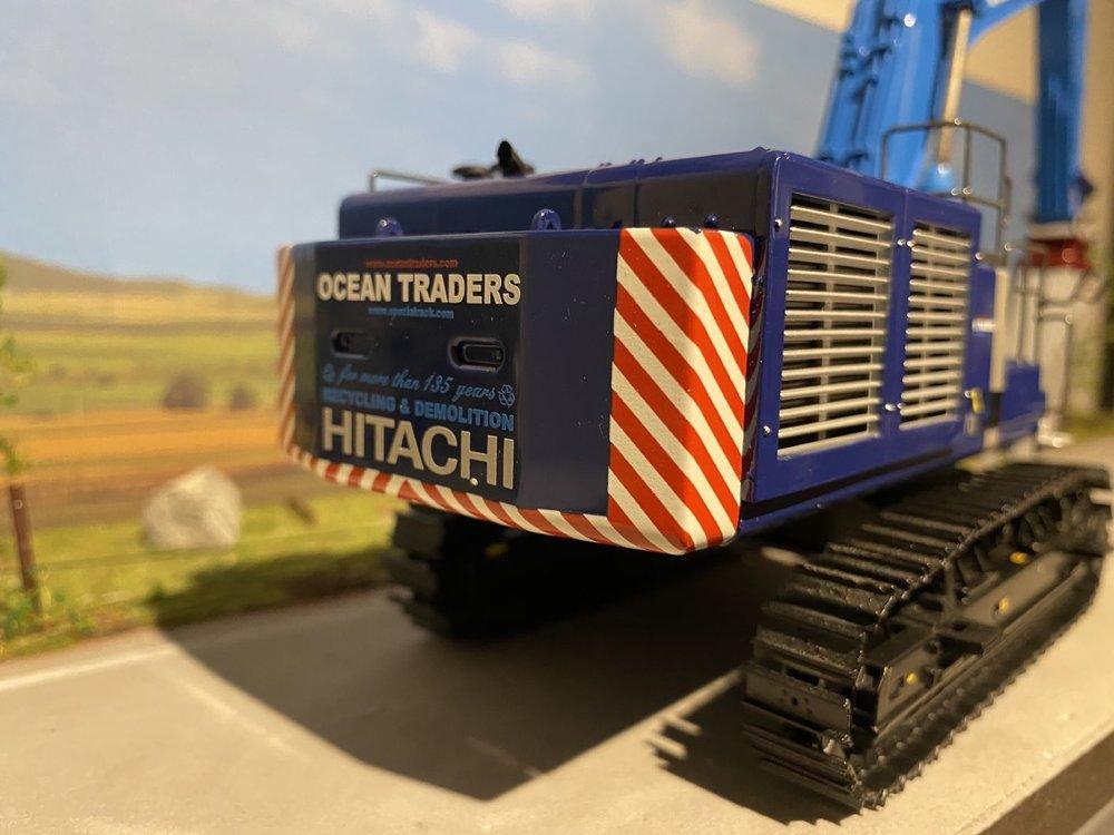 WSI WSI Hitachi ZX870 Sloopkraan Ocean Traders